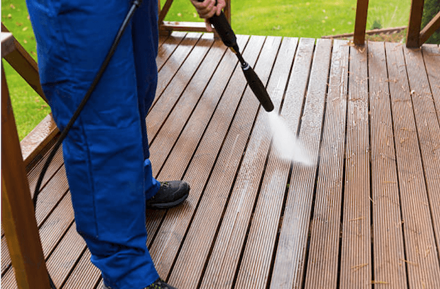 deck cleaning independence